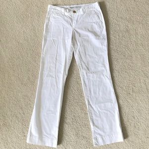 NWOT Old Navy Bright White Trousers Size 4R
